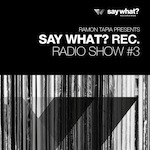 Say What? Recordings Radio Show #3 - Ramon Tapia
