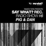 Say What? Recordings Radio Show #6 - Pig & Dan